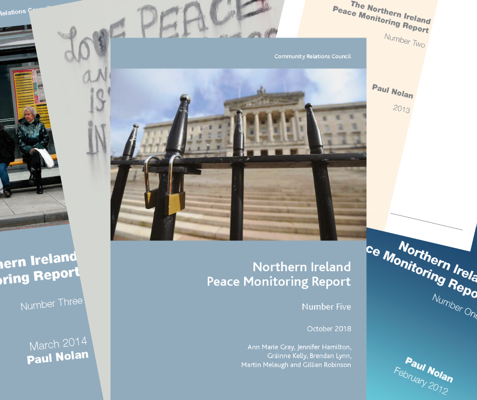 A montage of all the peace monitoring reports | NICRC