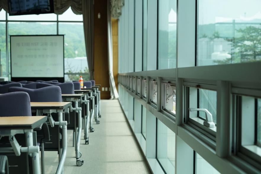 Chairs in an auditorium | CRC NI
