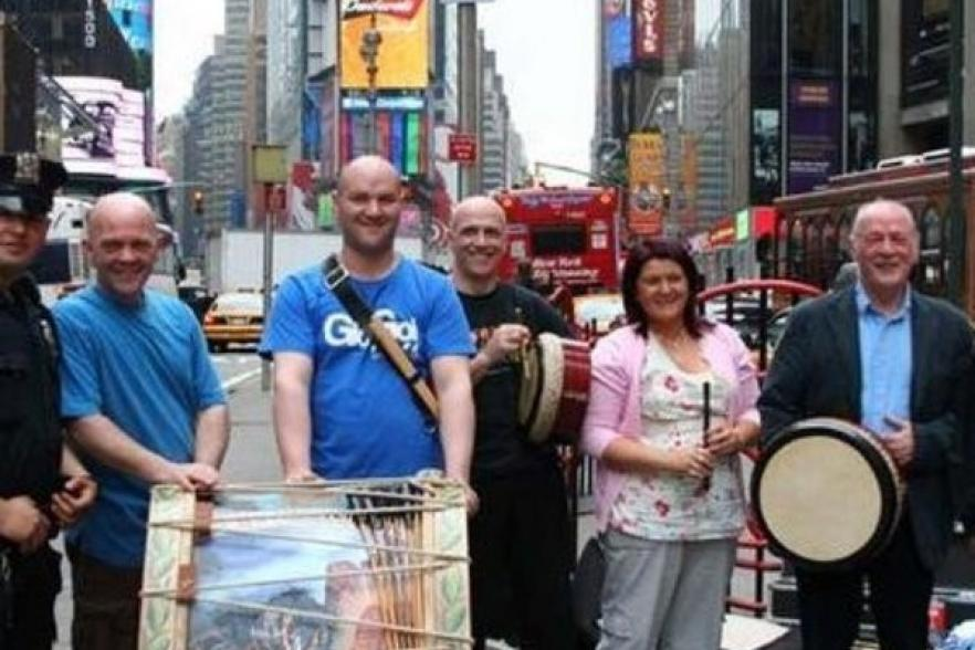 Members of Different Drums of Ireland | CRC NI