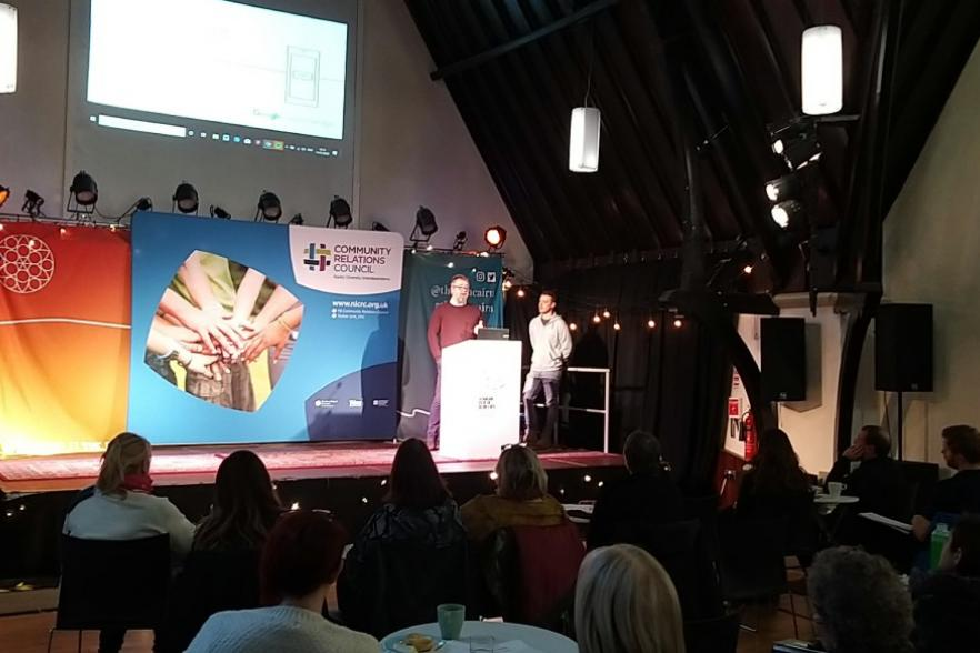 Shared learning forum with Google Digital Garage | NI CRC