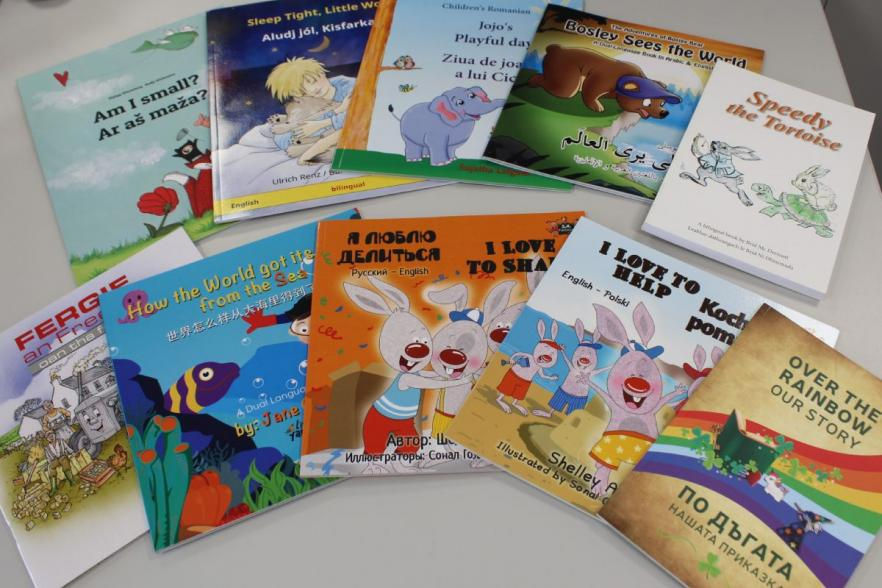 Books with titles in different languages | CRC NI