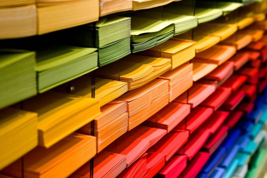 multi-coloured folders | CRC NI