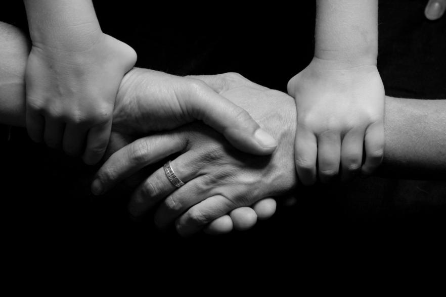 people holding hands | CRC NI