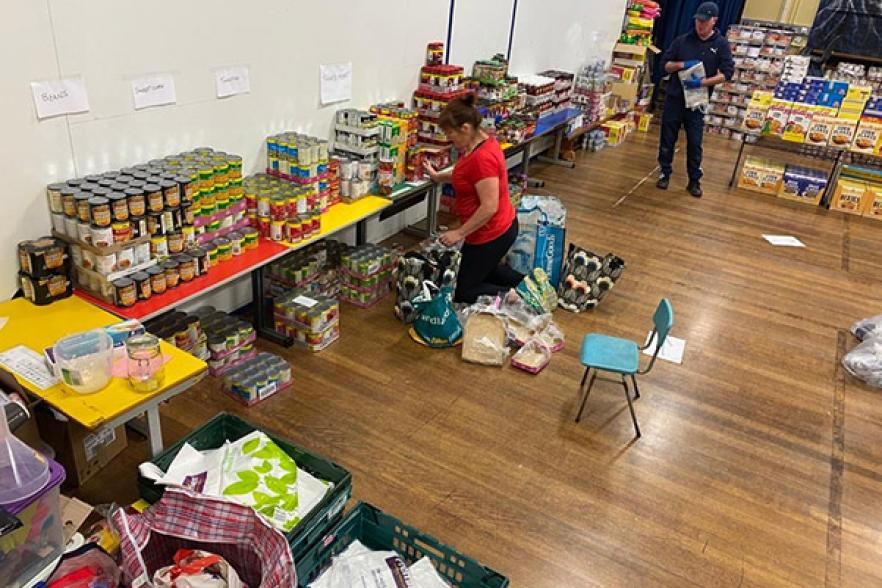 Food bank in North Belfast | NICRC