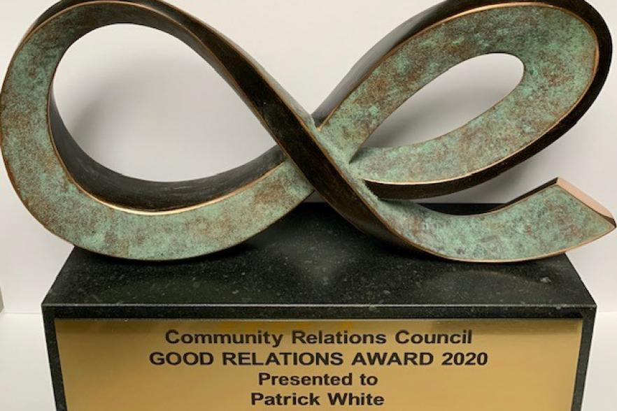The award trophy for 2020 | NICRC