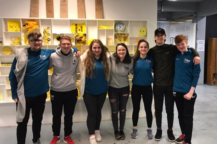 Young people from Belfast empowered as leaders   NI CRC